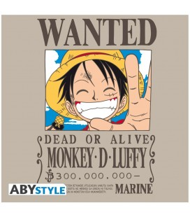 T-shirt Wanted Luffy