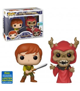Pop! Taran & Horned King SDCC 2019 (Taram & le Chaudron Magique) [2-Pack]