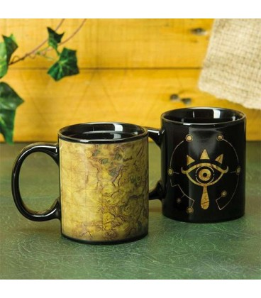 Mug Sheikah Eye Thermoréactif