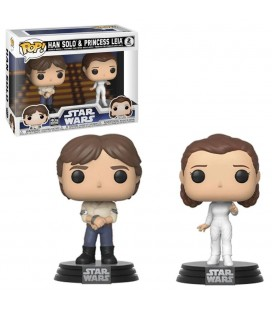 Pop! Han Solo & Princess Leia [2-Pack]