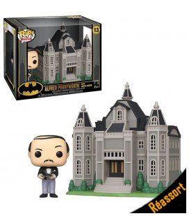 Pop! Town Alfred Pennyworth with Wayne Manor [13]