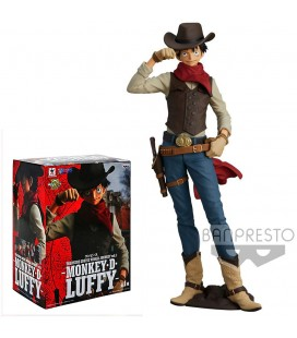 Statuette Monkey D. Luffy Treasure Cruise World Journey 21 cm