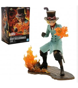 Statuette One Piece Stampede Sabo Posing Series 15 cm
