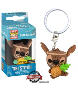 Pocket Pop! Keychain - Tiki Stitch