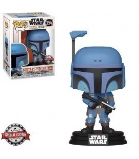 Pop! Death Watch Mandalorian (Two Stripes) Edition Limitée [354]