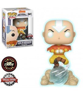 Pop! Aang on AirScooter GITD Chase Edition Limitée [541]
