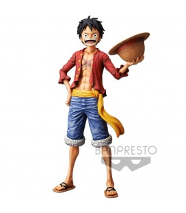 Statuette Nero Monkey D. Luffy Grandista 28 cm