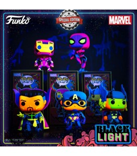 Pop! Doctor Strange Edition Limitée Black Light Series [651]