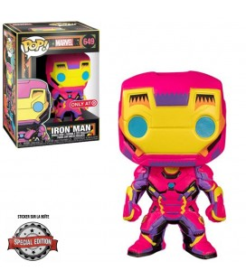 Pop! Iron Man Edition Limitée Black Light Series [649]