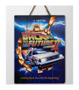 Tableau WoodArts 3D Back to the Future II
