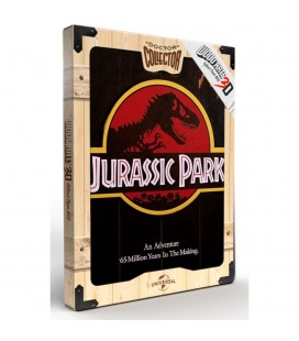 Tableau WoodArts 3D Welcome to Jurassic Park