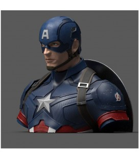 Tirelire Buste Captain America