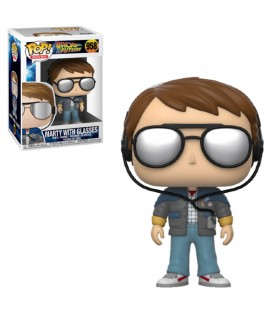 Pop! Marty with Glasses) [958]