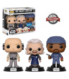 Pop! Lobot, Ugnaught & Bespin Guard Edition Limitée [3-Pack]