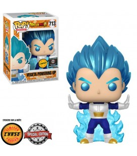 Pop! Vegeta Powering Up Metallic Chase Edition Limitée [713]