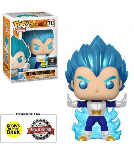 Pop! Vegeta Powering Up GITD Edition Limitée [713]