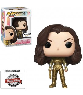 Pop! Wonder Woman Golden Armor Edition Limitée [332]