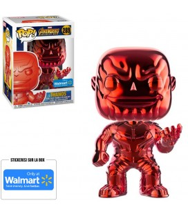 Pop! Thanos Chrome Red Edition Limitée [289]