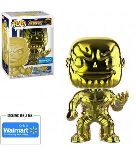 Pop! Thanos Chrome Gold Edition Limitée [289]