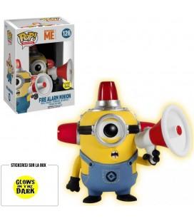 Pop! Fire Alarm Minion GITD Edition Limitée [126]