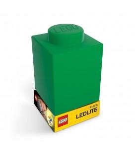 Lampe veilleuse Pièce de Lego Verte