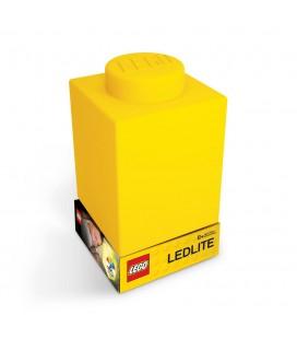 Lampe veilleuse Pièce de Lego Jaune