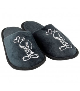 Chaussons Tweety Black Heart