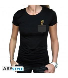 T-shirt Pocket Groot (F)