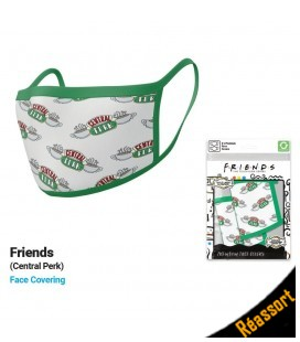 Set de 2 Masques Tissu Friends Central Perk