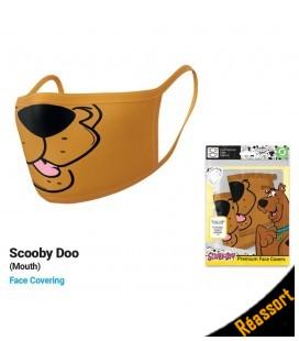 Set de 2 Masques Tissu Scooby Doo