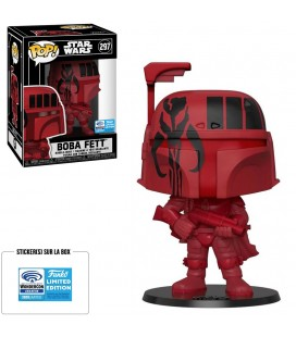Pop! Boba Fett Red Convention Exclusive 2020 [297]