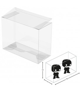 Ultimate Guard Boîte de protection pour Funko Pop! Double Size