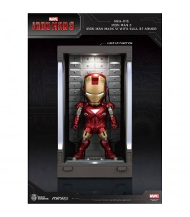 Hall Of Armor Iron Man Mark VI Mini Egg Attack