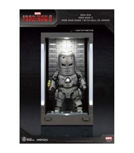 Hall Of Armor Iron Man Mark I Mini Egg Attack avec Eclairage LED