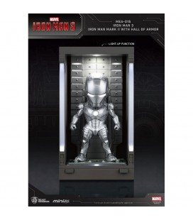 Hall Of Armor Iron Man Mark II Mini Egg Attack avec Eclairage LED