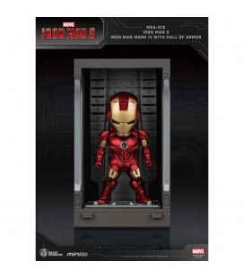 Hall Of Armor Iron Man Mark IV Mini Egg Attack avec Eclairage LED