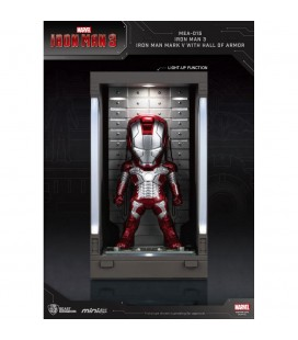 Hall Of Armor Iron Man Mark V Mini Egg Attack avec Eclairage LED
