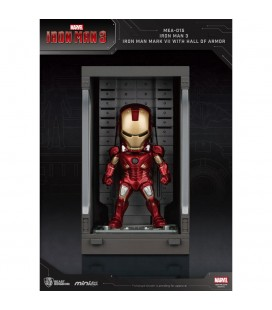 Hall Of Armor Iron Man Mark VII Mini Egg Attack avec Eclairage LED