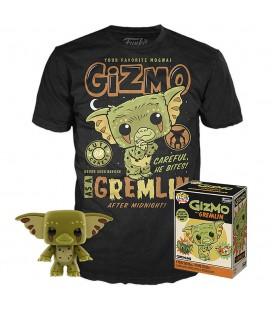 Pop! Gizmo (Exclusive Gizmo As a Gremlin) [04] & T-Shirt