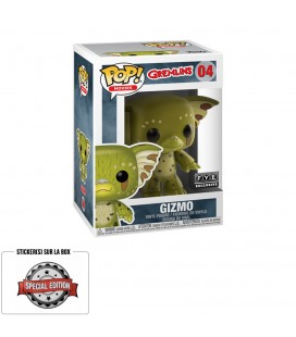 Pop! Gizmo (Exclusive Gizmo As a Gremlin) [04] & T-Shirt