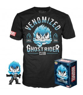 Pop! Venomized Ghost Rider (Exclusive) [369] & T-Shirt
