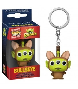 Pocket Pop! Keychain - Bullseye (Alien Remix)
