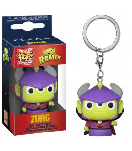 Pocket Pop! Keychain - Zurg (Alien Remix)