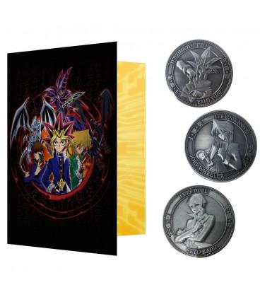 Coffret complet pour Pièces de Collection Yu-Gi-Ho! (Les 3 pièces sont incluses)