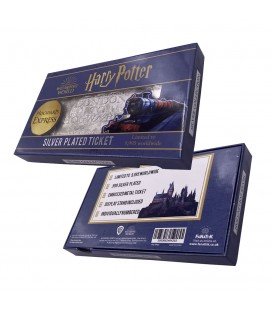 Réplique Ticket Poudlard express Plaqué Argent Edition Limitée (9995 Ex)