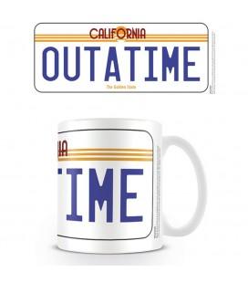 Mug License Plate Outatime