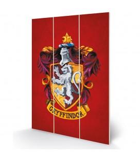 Tableau bois Gryffindor Crest 20X30