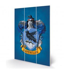 Tableau bois Ravenclaw Crest 20X30