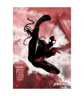 Displate Spider-Man - Dark Edition - Magnetic Metal Poster 31*21
