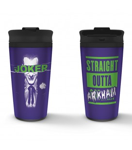 Travel Mug The Joker Straight Outta Arkham